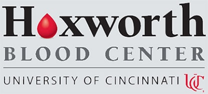Hoxworth Blood Center logo.